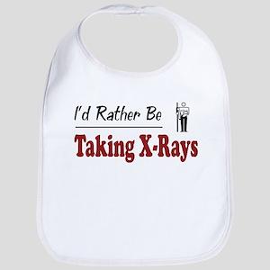 Rather Be Taking X-Rays Bib
