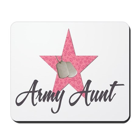 army aunt Mousepad