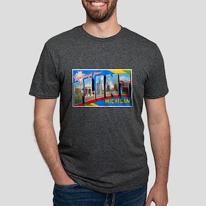 Flint Michigan Greetings (Front) T-Shirt