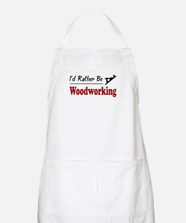 Rather Be Woodworking BBQ Apron
