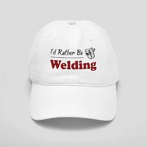 Rather Be Welding Cap