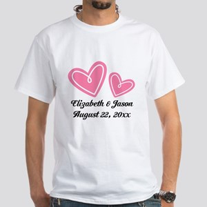 Personalized Wedding His Hers Gift T-Shirt