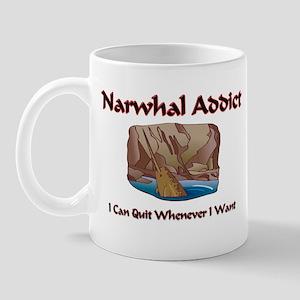 Narwhal Addict Mug