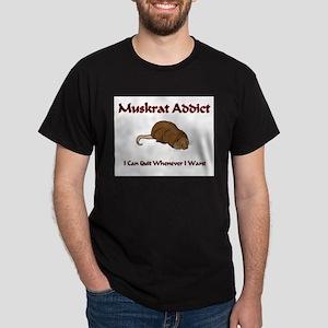 Muskrat Addict Dark T-Shirt