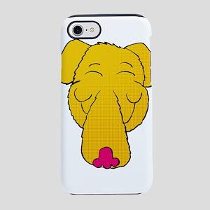 Cartoon yellow Lab head iPhone 8/7 Tough Case