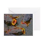 Hungry Catfish Greeting Card