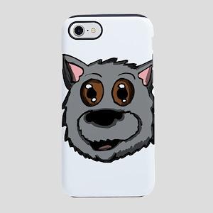 Scottish dog head iPhone 8/7 Tough Case