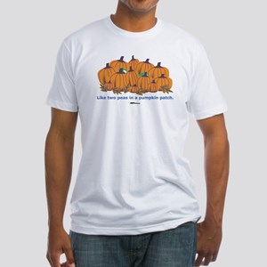 in a Pumpkin Patch Fitted T-Shirt