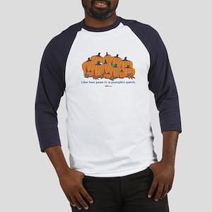 in a Pumpkin Patch Baseball Jersey