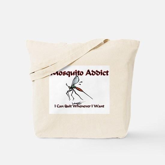 Mosquito Addict Tote Bag