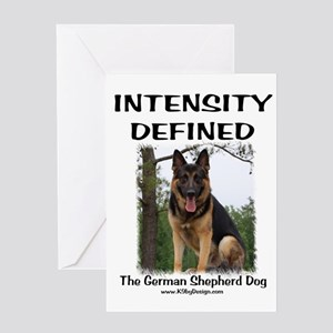 GSD Intensity Defined Greeting Card