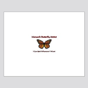 Monarch Butterfly Addict Small Poster