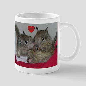 Valentine Squirrels Stainless Steel Travel Mugs