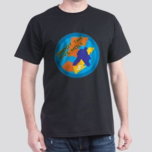 shoot the five hole Dark T-Shirt