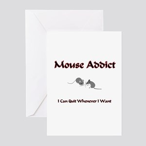 Mouse Addict Greeting Cards (Pk of 10)