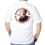 Barack Obama Drug Test Golf Shirt