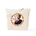 Barack Obama Drug Test Tote Bag