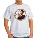 Barack Obama Drug Test Light T-Shirt