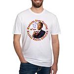 Barack Obama Drug Test Fitted T-Shirt
