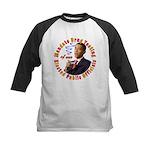 Barack Obama Drug Test Kids Baseball Jersey