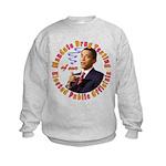 Barack Obama Drug Test Kids Sweatshirt