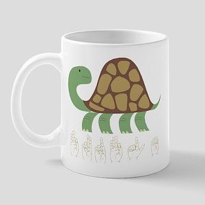 ASL Turtle Mug