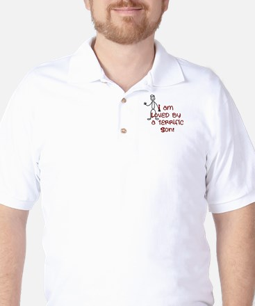 I am Loved by: Son Golf Shirt