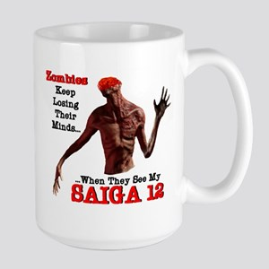 Headless Zombie - Saiga 12 Large Mug