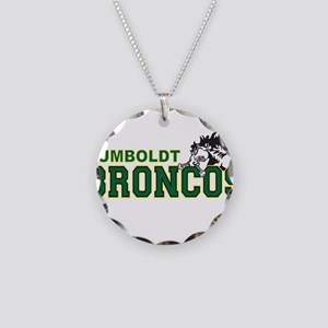HumboldtBroncos Necklace Circle Charm