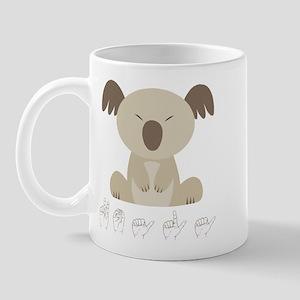 ASL Koala Mug