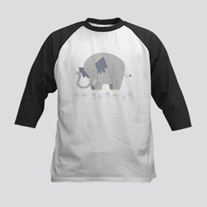 ASL Elephant Kids Baseball Jersey