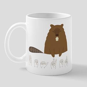 ASL Beaver Mug