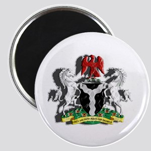 Nigerian Coat of Arms Magnet