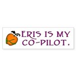 Eris Is My Co-Pilot Bumper Sticker (10 pk)