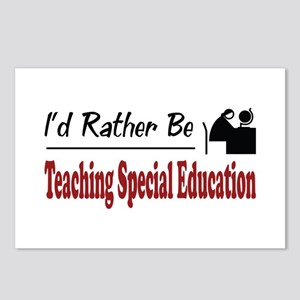 Rather Be Teaching Special Education Postcards (Pa