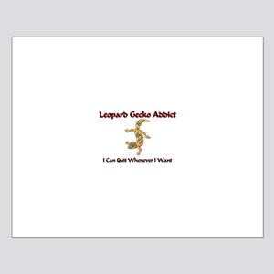 Leopard Gecko Addict Small Poster