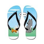 Yappy Dog Syndrome Flip Flops