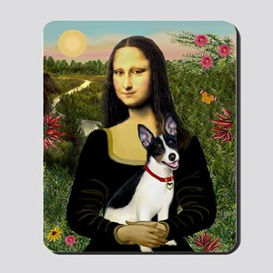 Mona & Rat Terrier Mousepad