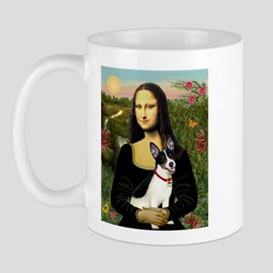Mona & Rat Terrier Mug