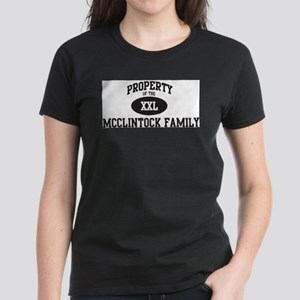 Property of Mcclintock Family T-Shirt