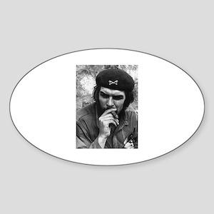 Che Guevara Oval Sticker