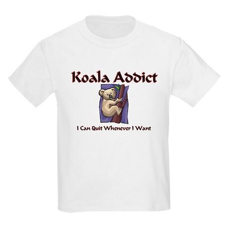 Koala Addict Kids Light T-Shirt
