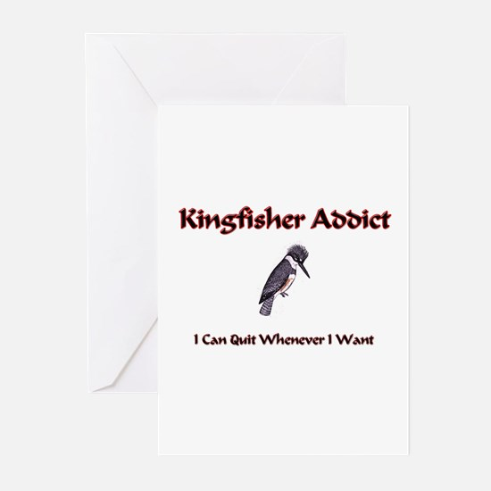 Kingfisher Addict Greeting Cards (Pk of 10)