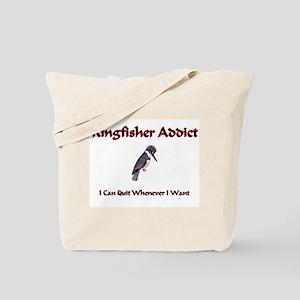 Kingfisher Addict Tote Bag