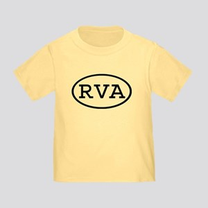 RVA Oval Toddler T-Shirt