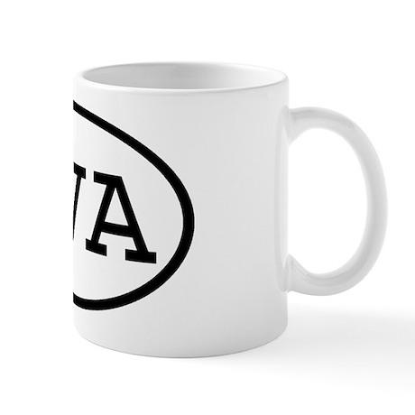 RVA Oval Mug