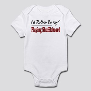 Rather Be Playing Shuffleboard Infant Bodysuit
