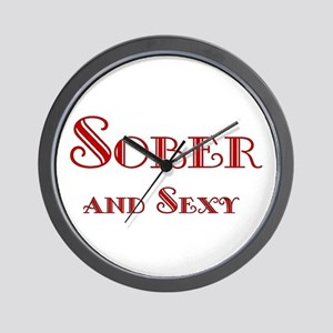Sober and Sexy Wall Clock