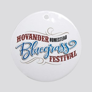 Hhbgf Logo Round Ornament