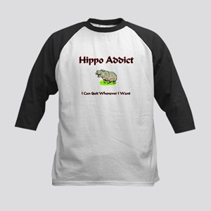 Hippo Addict Kids Baseball Jersey